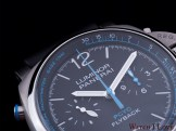 The top side of the PAM764 with a view to the tachymeter scale