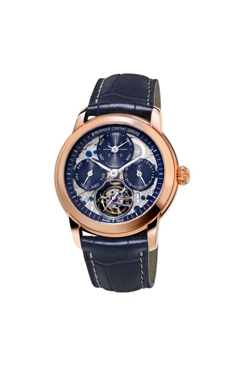 Classic Tourbillon Perpetual Calendar Manufacture Reference FC-975N4H9