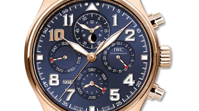 "Pilot's Watch Perpetual Calendar Chronograph Edition ""Le Petit Prince"" (Ref. IW392202)"