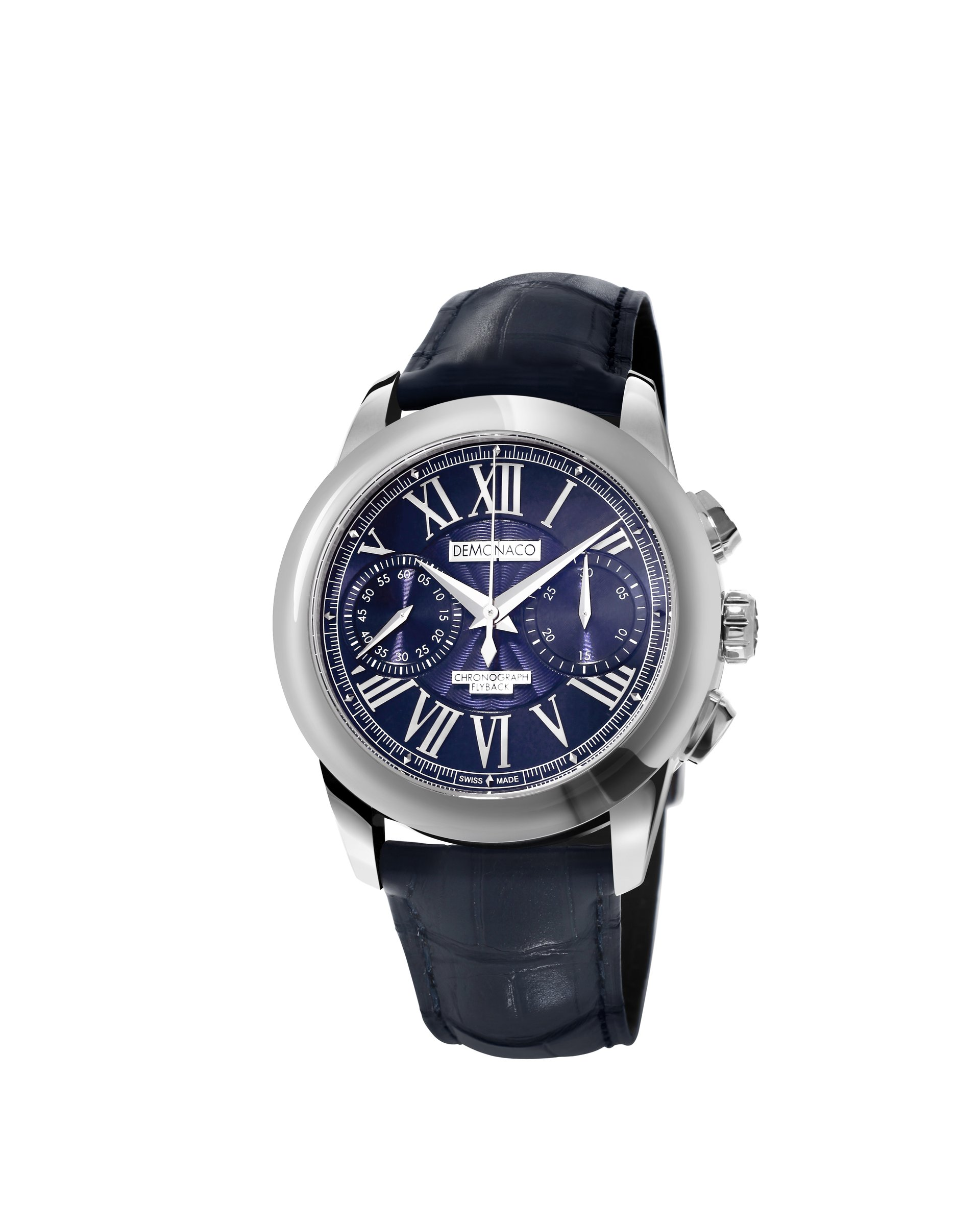 Ateliers deMonaco Admiral Chronographe Flyback Armure Reference: DMC-CHR-BLS-S