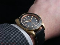 Tudor Black Bay Bronze on the wrist