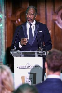Clarke Peters at Jaeger-LeCoultre Gala dinner in London with Letters Live @gettyimages
