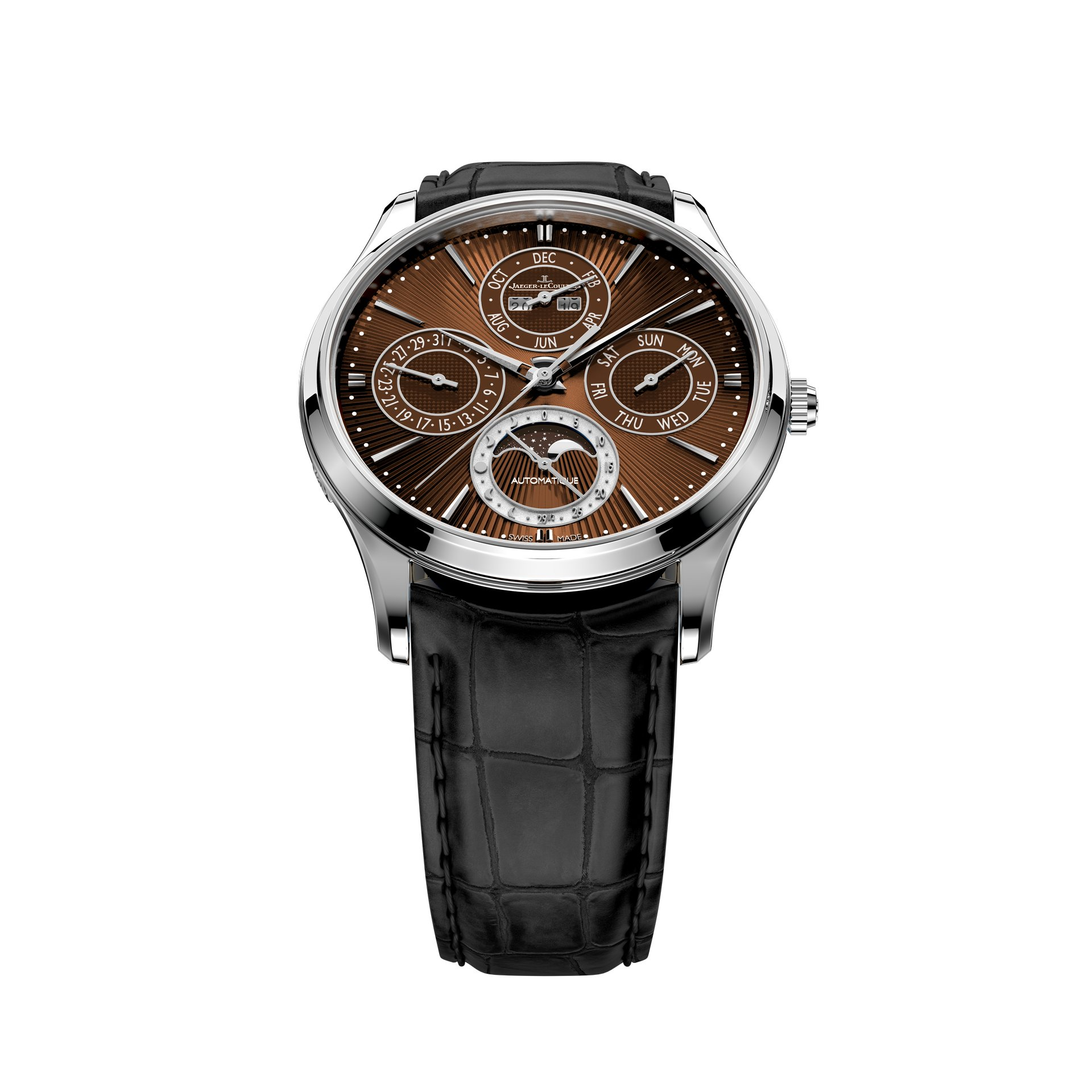 Jaeger-LeCoultre Master Ultra Thin Perpetual Enamel Chestnut Only Watch
