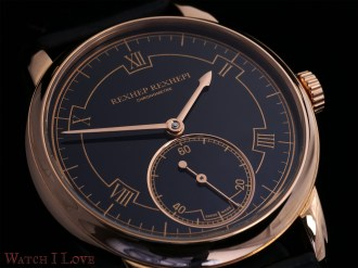 the black dial