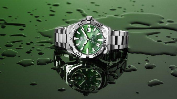 TAG Heuer Aquaracer Green Dial