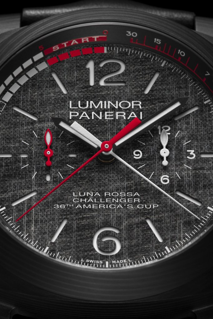 LUMINOR LUNA ROSSA REGATTA - 47 MM PAM01038
