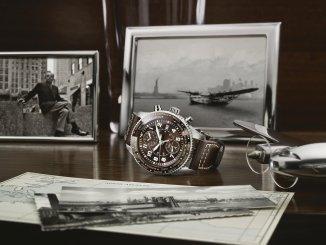 "PILOT'S WATCH TIMEZONER CHRONOGRAPH EDITION ""80 YEARS FLIGHT TO NEW YORK"""