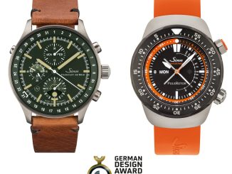 Sinn Spezialuhren EZM 12 and HUNTING WATCH 3006