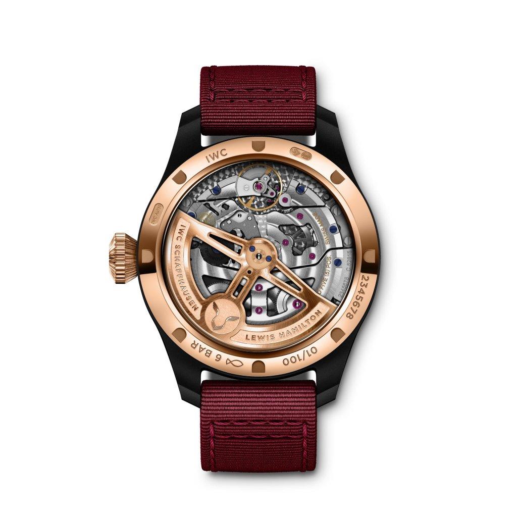 "IWC ""Lewis Hamilton"" Big Pilot's Watch Perpetual Calendar"