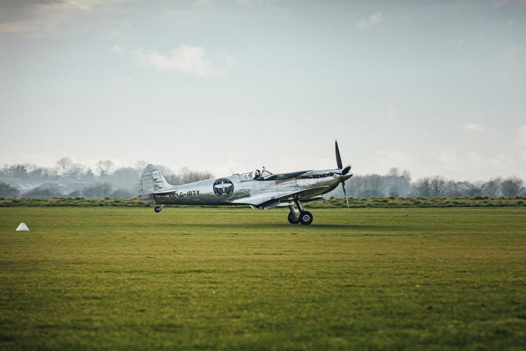 """Silver Spitfire - The Longest Flight"" expedition arrives back"
