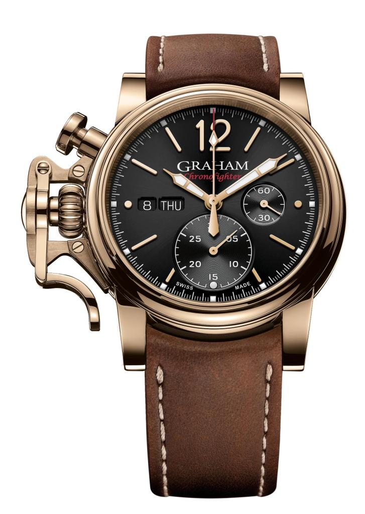 Graham Chronofighter Vintage Bronze Ref. 2CVAK.B26A