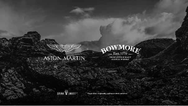 Aston Martin pertners with Bowmore®