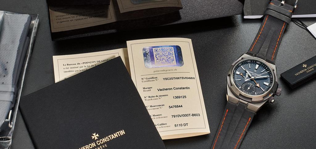 Vacheron Constantin Overseas Prototype sold by Phillips Auction for Non-Profit-Organisation