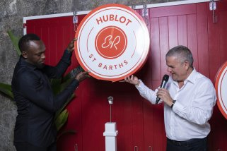 Usain Bolt and Ricardo Guadalupe