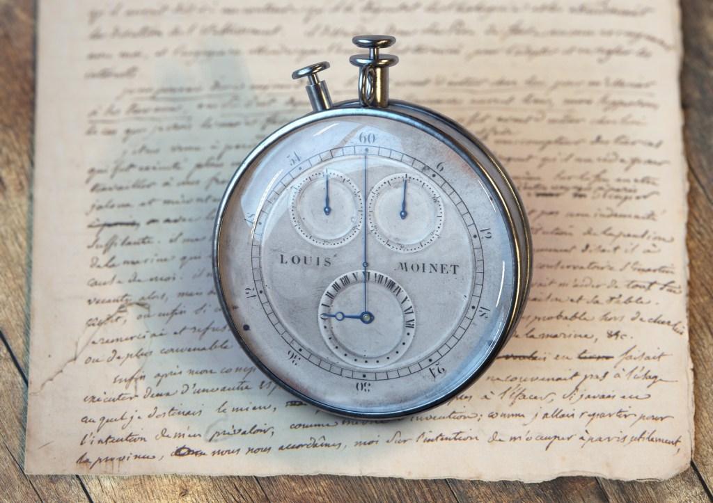 Compteur de Tierces - Manuscrit