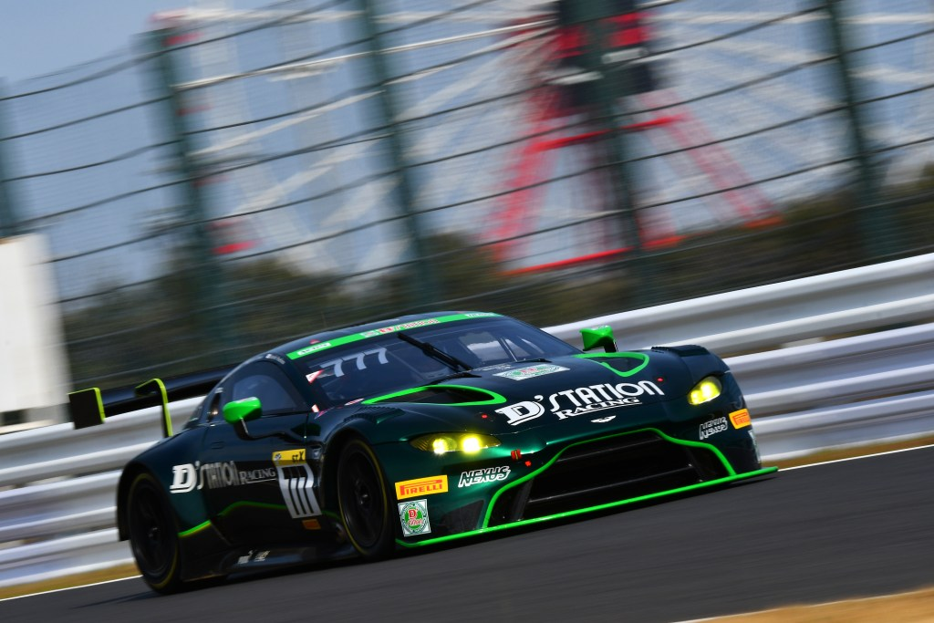 Aston Martin partners with Pacific D'Station Racing