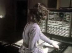 Elizabeth operating the 'Delaware', which at this time has gained its additional patch panel.