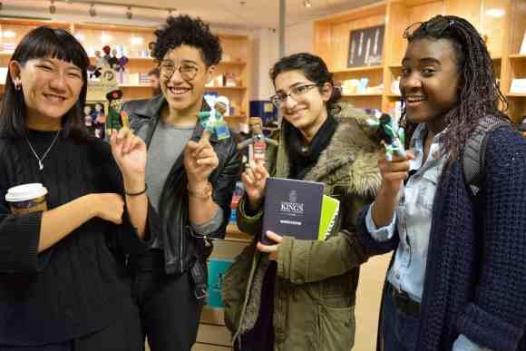 From left: Lianne Xiao, Julia-Simone Rutgers, Dorsa Eslami and Itai Kuwodza. (Photo: Kristen Thompson)