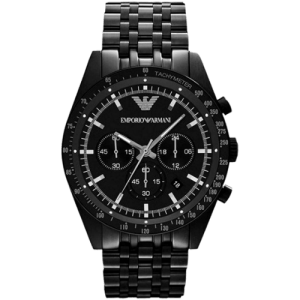 Emporio Armani Men's Sportivo Black IP
