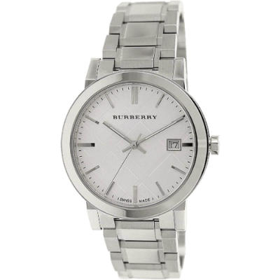 Men's Burberry Silver Dial Stainless Steel