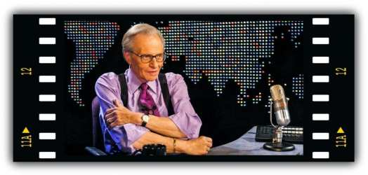 Late Night Talk Show Host - Larry King