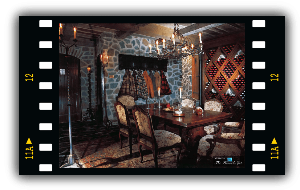 Michael Jackson's Wine Cellar at Neverland Ranch