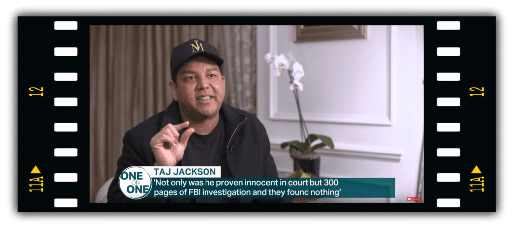 Taj Jackson defending his Uncle Michael post Leaving Neverland