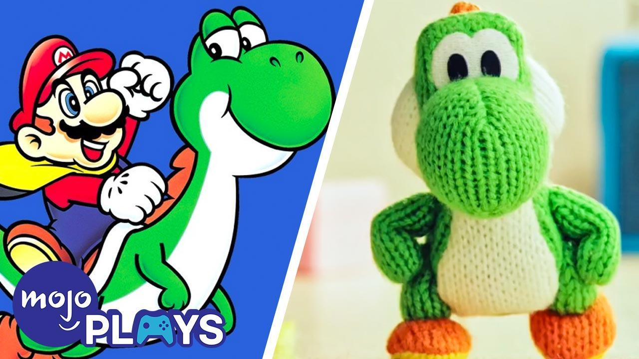 The History Of Yoshi Watchmojo Com