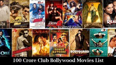 Photo of 100 Crore Club Bollywood Movies List
