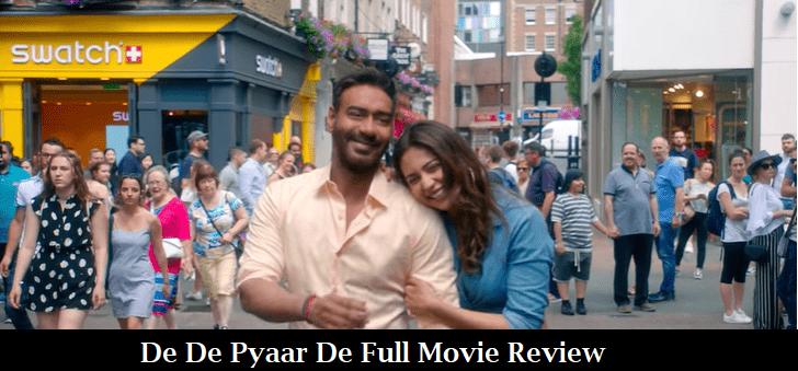 De De Pyaar De Full Movie Review