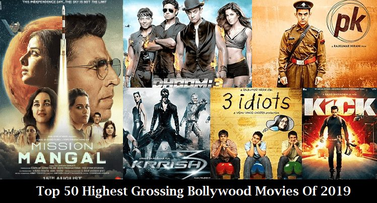 Top 50 Highest Grossing Bollywood Movies Of 2019