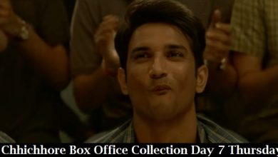 Photo of Chhichhore Box Office Collection Day 7 Thursday