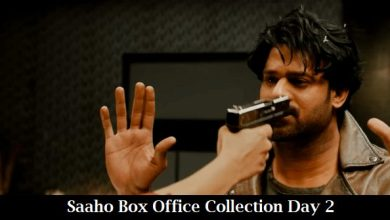 Photo of Saaho Box Office Collection Day 2