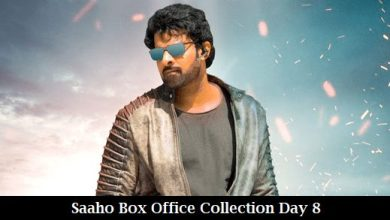 Photo of Saaho Box Office Collection Day 8