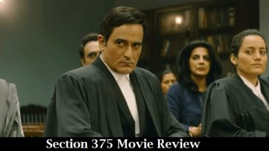 Photo of Section 375 Movie Review
