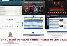 Top 10 Most Popular Torrent Sites of 2019 USA
