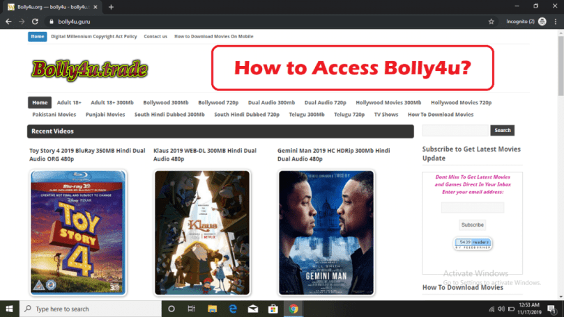 How to Access the Bolly4u