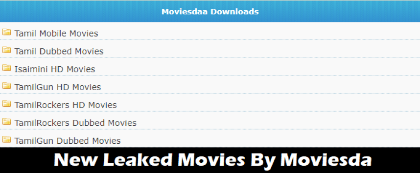 New Leaked Movies By Moviesda