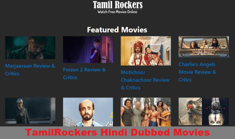 فیلم های TamilRockers Hindi Dubbed Download 2020