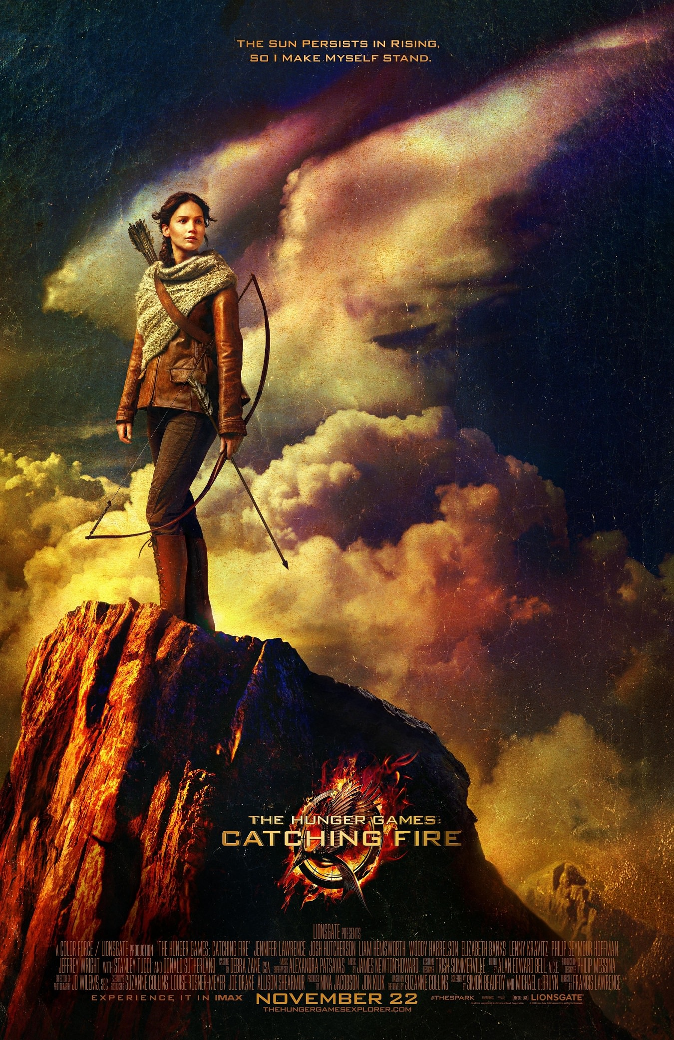 The Hunger Games Series Is Finally Catching Fire