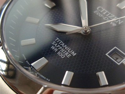 Sapphire Crystal Watch By Citizen (Eco-Drive)