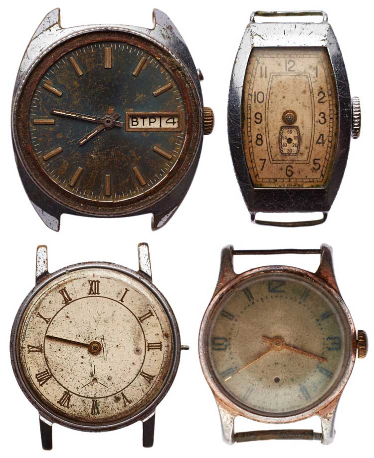 old wrist watches
