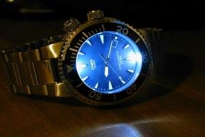 illuminated watch dial