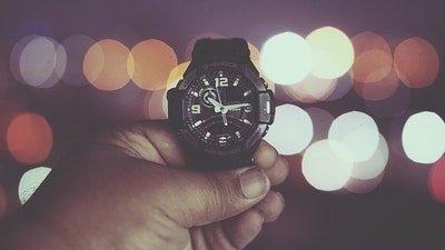casio g-shock illuminated dial