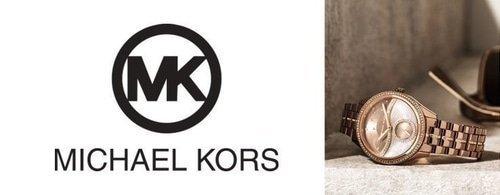 Michael Kors Logo and watch