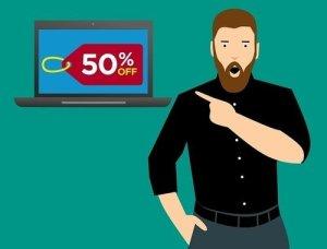watch deals showing 50% OFF