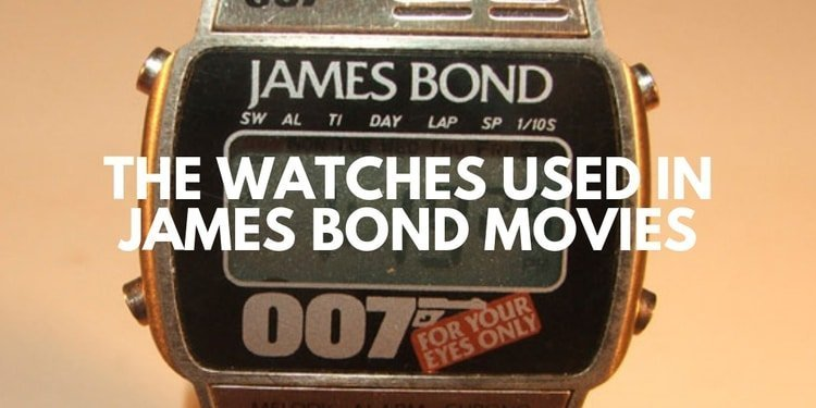 watches of 007