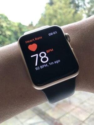 apple watch heart rate