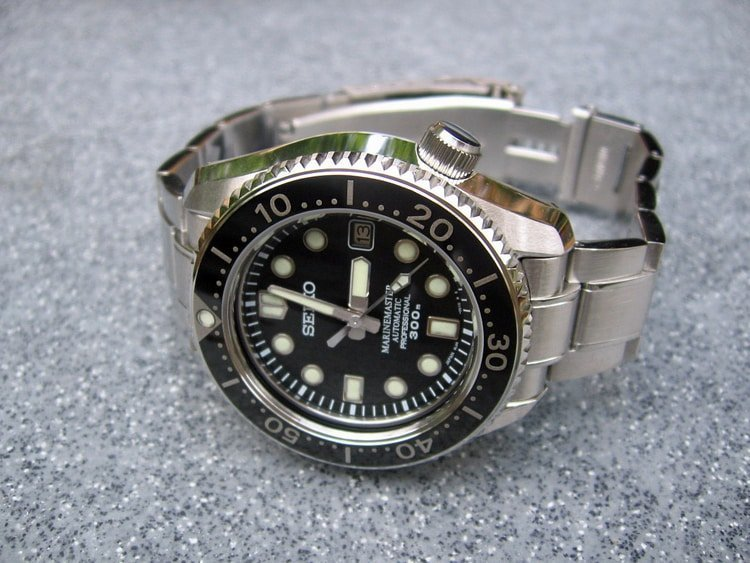 seiko marinemaster tool watch