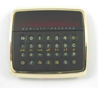 Hewlett Packard HP-01 Calculator Watch